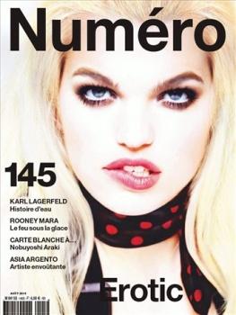 Numéro August 2013 Cover