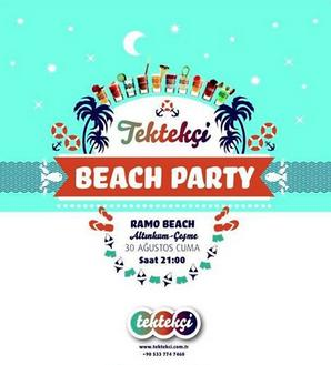 Tektekçi Beach Party