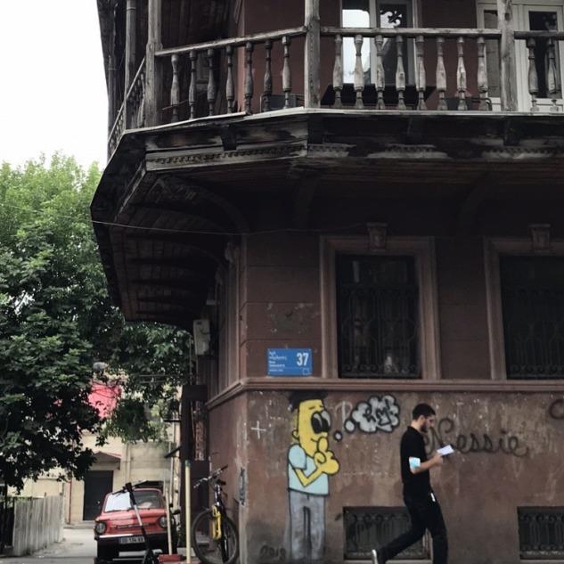 Tiflis Sokakları